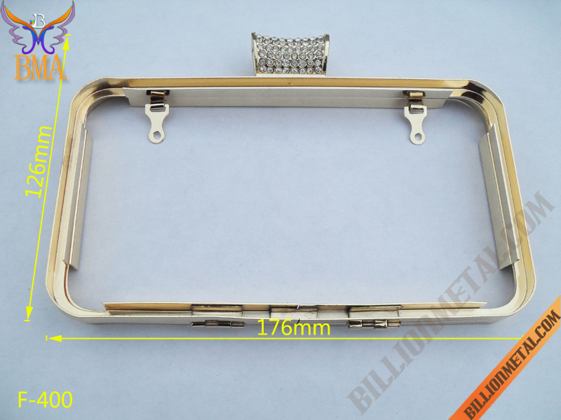 7 inch Hard Body Box Frame/Clutch Frame Box(F-400)/Handbags, Wallets ...