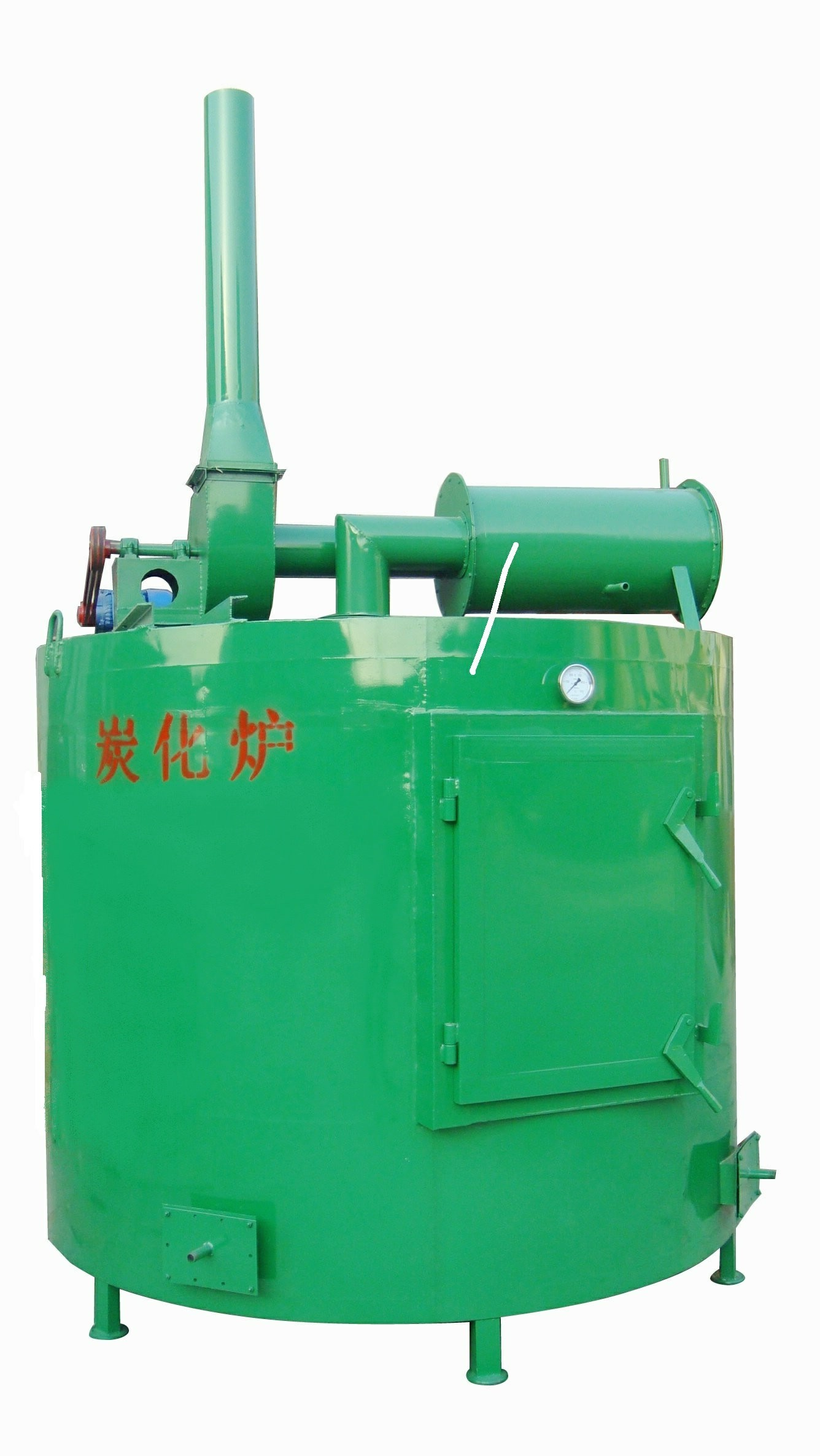 Round Spontaneous combustion type Carbonization furnace