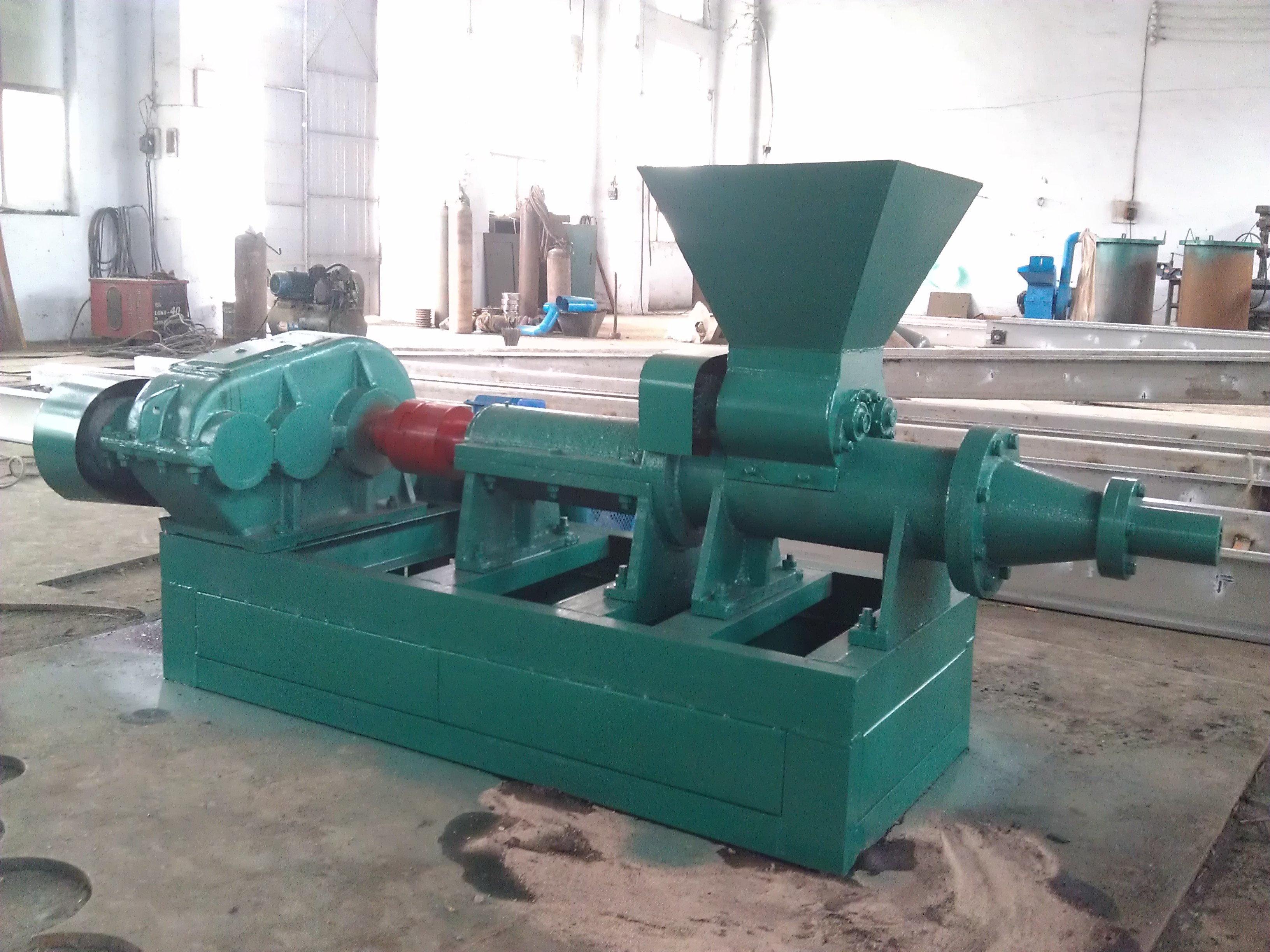 Charcoal/coal Dust Briquette machine|Charcoal/coal powder extrusion Machine|Charcoal dust press Machine|Coal powder stick briquette machine