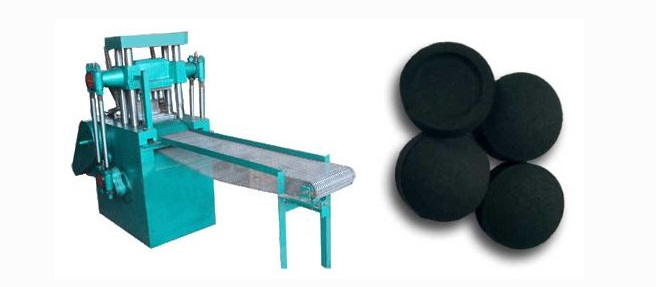Charcoal/coal Powder tablet press machine|Charcoal briquette extrusion machine