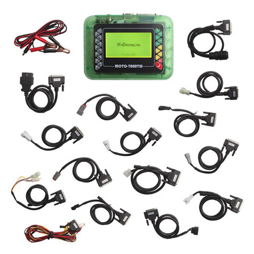 OBD Diagnostic Center MOTO 7000TW Motorcycle Scan Tool