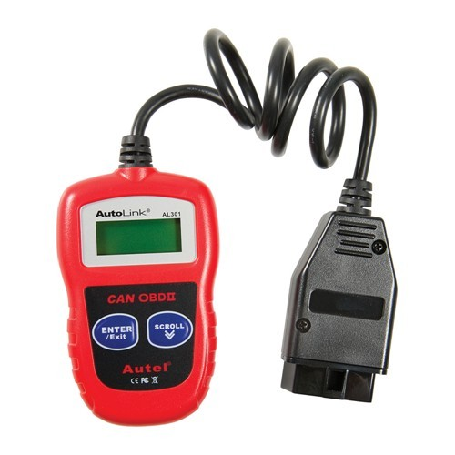 OBD Diagnostic Center Autel AutoLink AL301 OBDII & CAN Code Reader