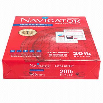 Navigator Letter Size 8.5*11,75gsm and 80gsm