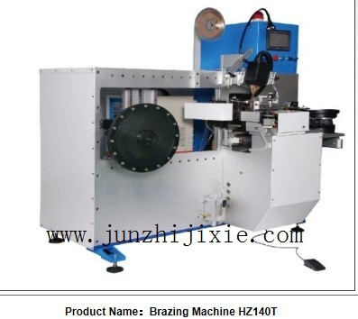 CNC Brazing machine for big circular saw blade