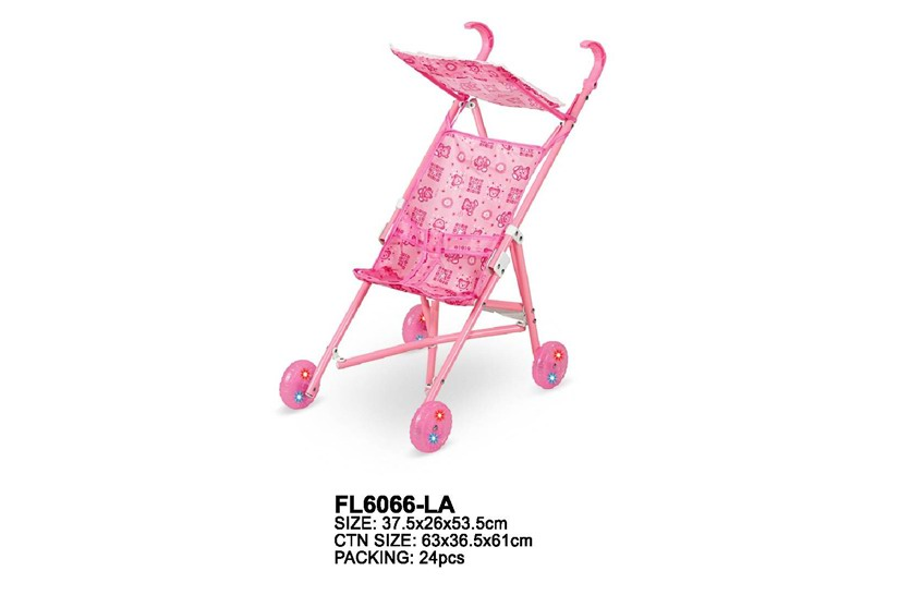 Doll Stroller-with light