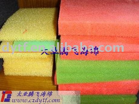 air filter sponge,activated carbon filter sponge ,anti-moisture filter sponge,aquarium sponge filter