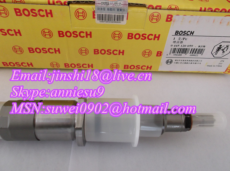 BOSCH Original Common Rail Injector 0445120059 /4945969/3976372 for CUMMINS DODGE KOMATSU
