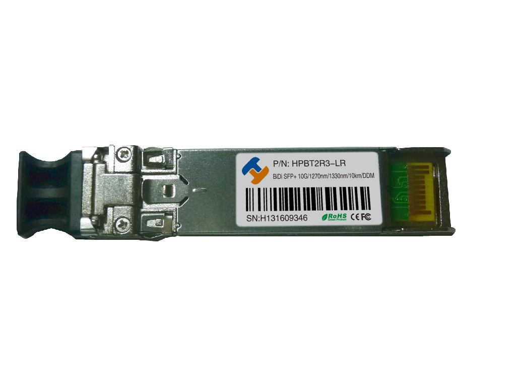 10G BIDI SFP+ Simplex LC Optical Transceiver