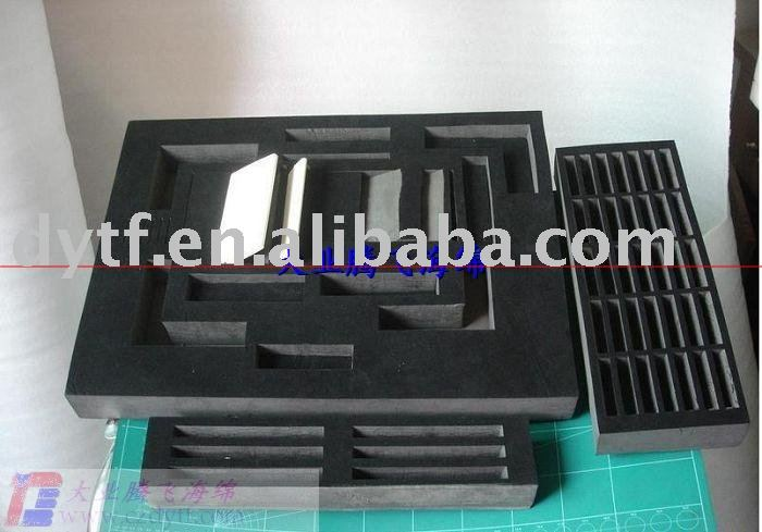 EVA sponge package/ packing sponge for machine