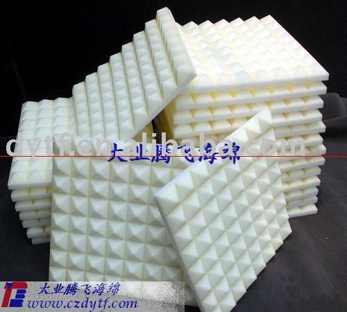 wave shape noise insulation sponge
