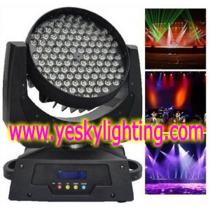 RGBW LED Moving head Wash 108pcs*3W YK-101