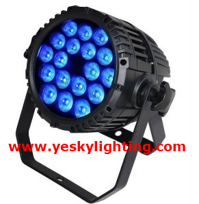 18*8W RGBW 4 in 1 LED PAR64 140W IP65 YK-222