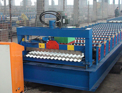 XN13-65.4-850 corrugated roof panel roll forming machine