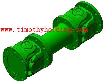 Universal joint shaft