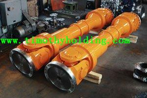 Universal coupling shaft