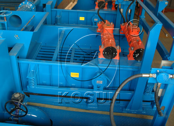 Solids control equipment elliptical shaker for sale by KOSUN