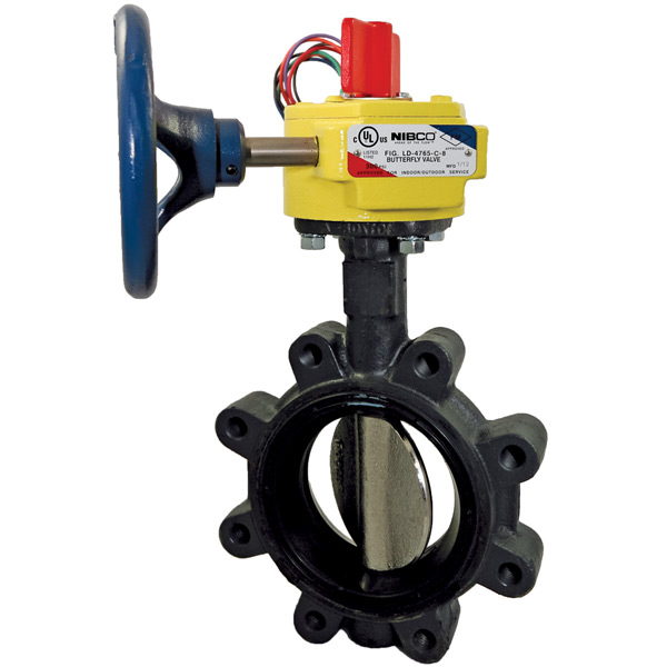 Nibco Grooved Butterfly Valve GD-6765-8N