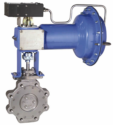 Jamesbury ANSI Class 150 Series F815 Butterfly Valves
