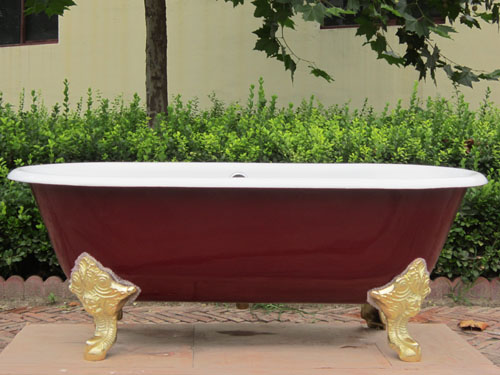 enamel cast iron freestanding bathtubs/freestanding tubs