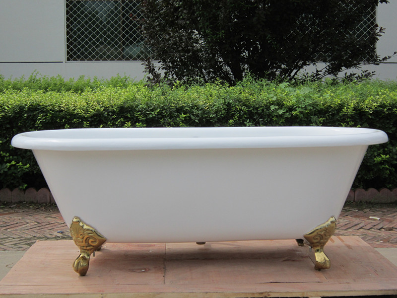 cast iron bathtubs with foot/with legs
