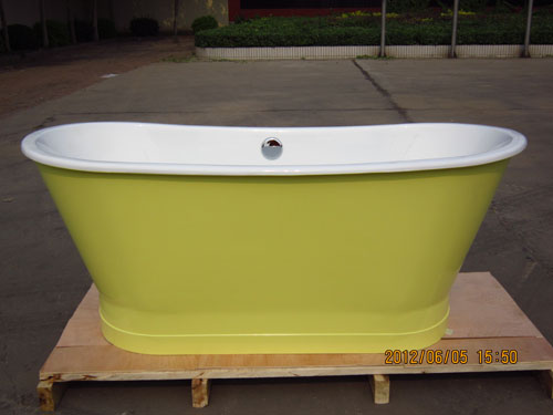 cast iron skirted tubs
