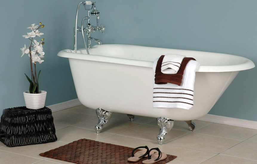 cast iron roll top clawfoot tubs/the roll top tubs