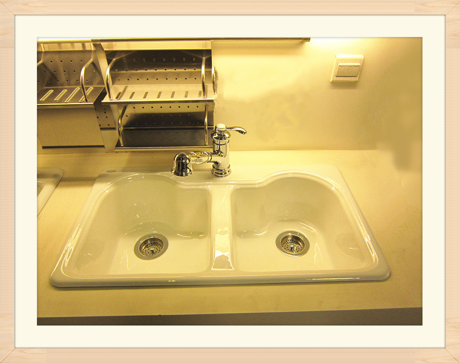 cast iron sinks(kitchen sinks)