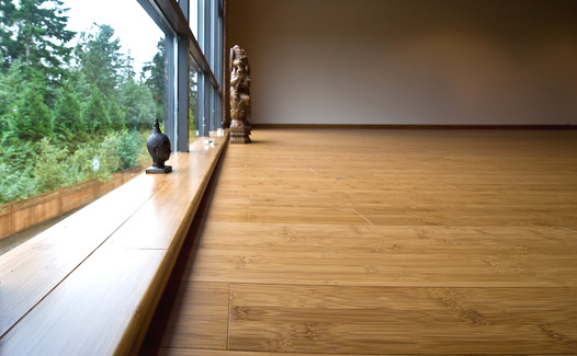 Carbonized Horizontal Bamboo Flooring   XYC001
