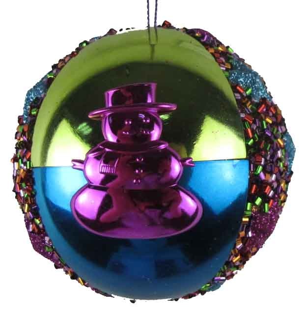 Multi color Christmas decorations