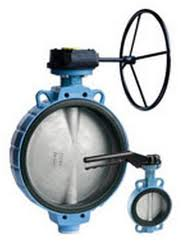 TTV Flanged Butterfly Valve DN250-400 PN-16 ANSI 150