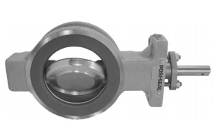 Fisher 8510 Wafer Type Butterfly Valve