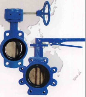 ABZ Rubber Seated Butterfly Valve Type 909: 2-12