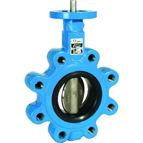Econosto Rubber Lined Butterfly Valve Ring type Series 58