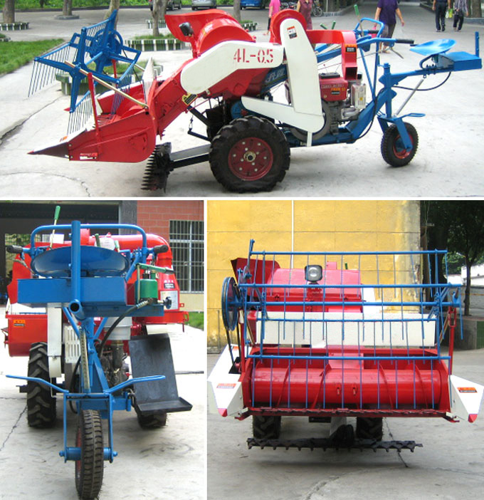 Zhengyang Mini Rice combine Harvester