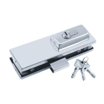 glass clamp with zinc alloy core,door lock