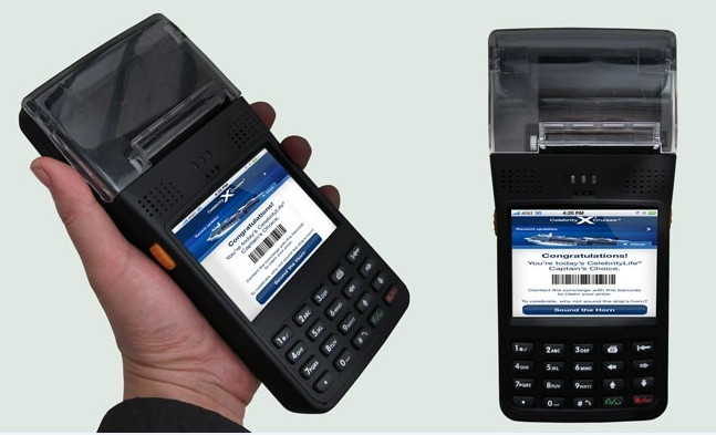 Windows Mobile 6.5, Handheld data terminal,Mobile POS terminal, Thermal printer Honeywell 1D Barcode,CSR ,CRM ,Retail solutions