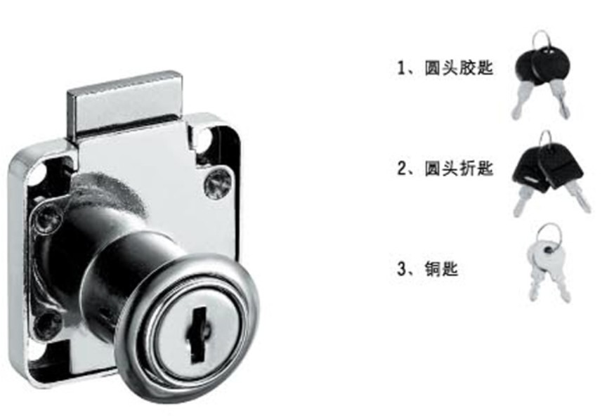 Drawer locks for wood drawer,cabinet,desk