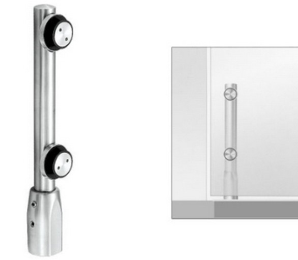 swing door fittings,304 stainless steel glass door pivot