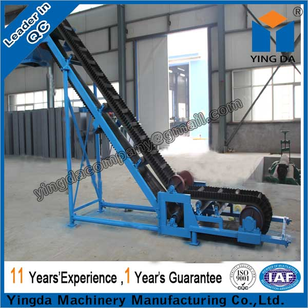 DJ type sidewall belt conveyor