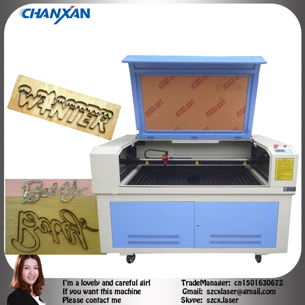 2013 laser cutting machine sale with CO2 laser tube cnc in best laser machine supplier