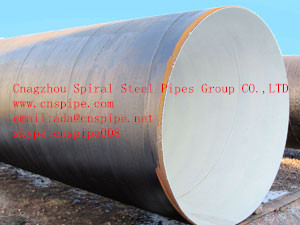 API-5L spiral steel pipes