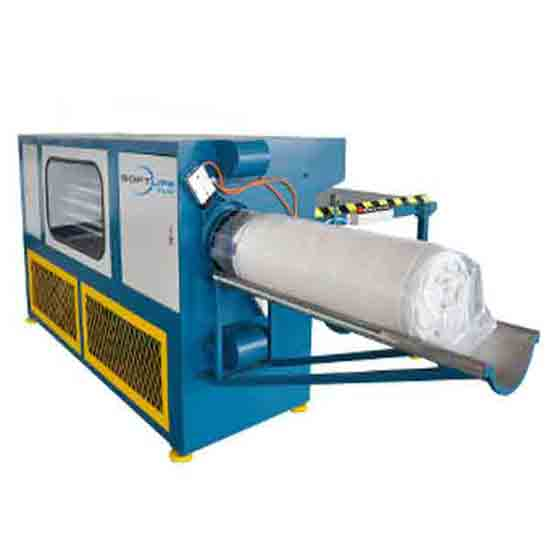 Sl-08w Mattress Roll Packing Machine