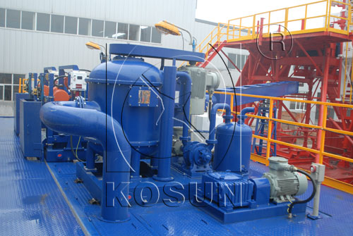 Vacuum Degasser for Drilling Mud System