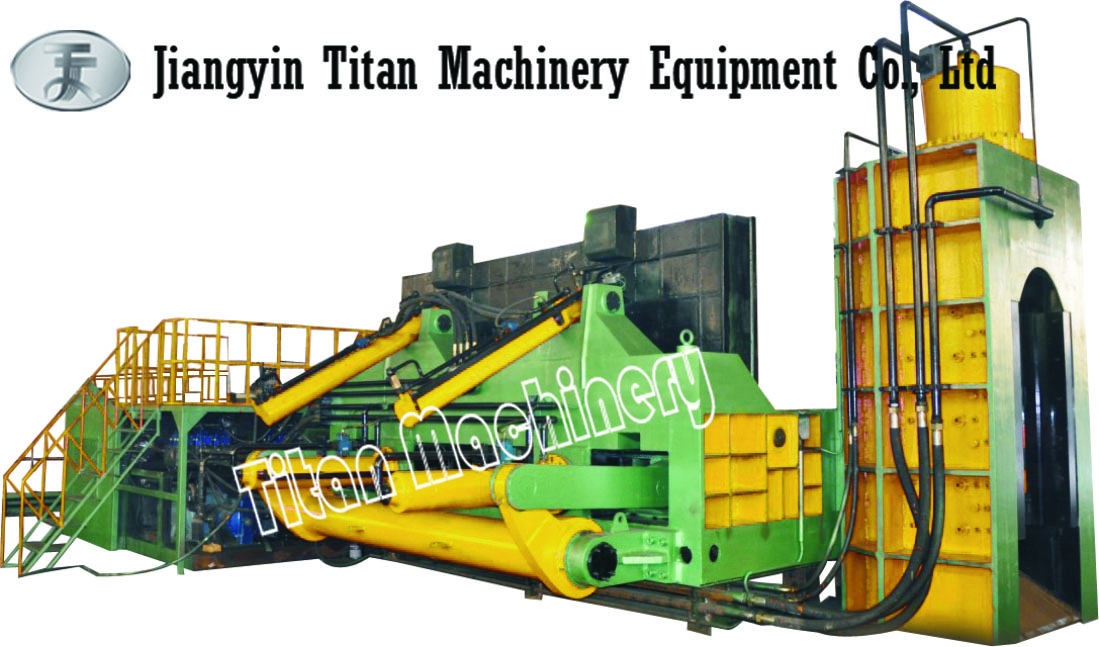 THS series hydraulic scrap baler-shear
