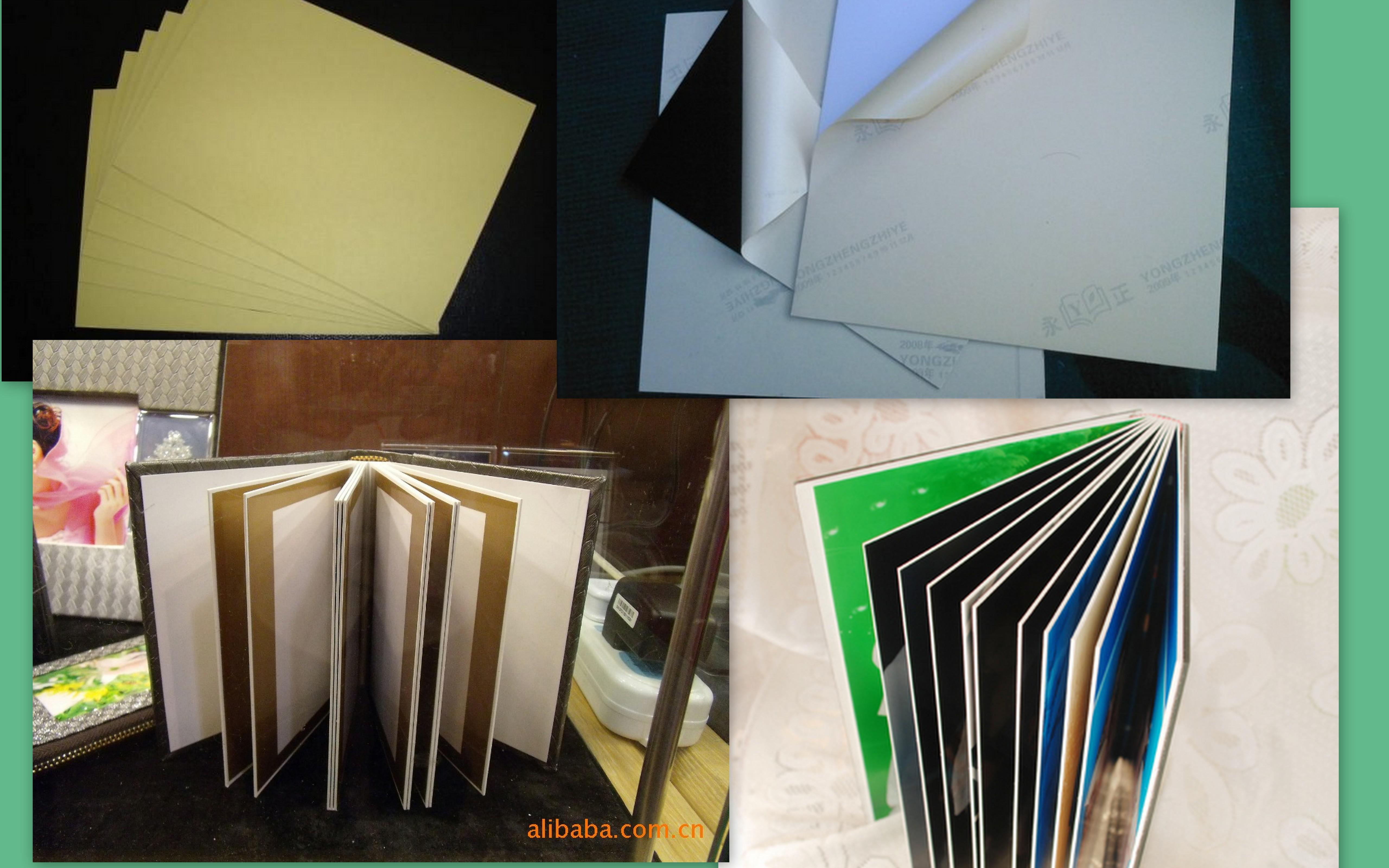 Album inner sheet/Foam PVC Sheet/Hard rigid self-adhesive PVC/High quality PVC album sheet /PVC album sheet/album consumable PVC
