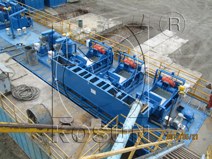 Mobile Solids Control System
