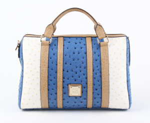 Fashion Ostrich Pattern Ladies' Fashionable Handbag