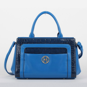 High-class PU Ladies' Handbag in Crocodile Pattern
