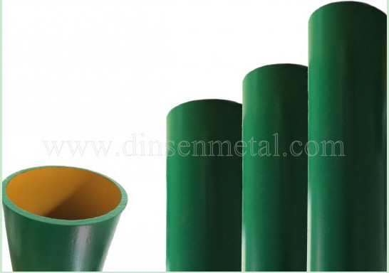 Green Epoxy Sewage EN877 Cast Iron Pipe