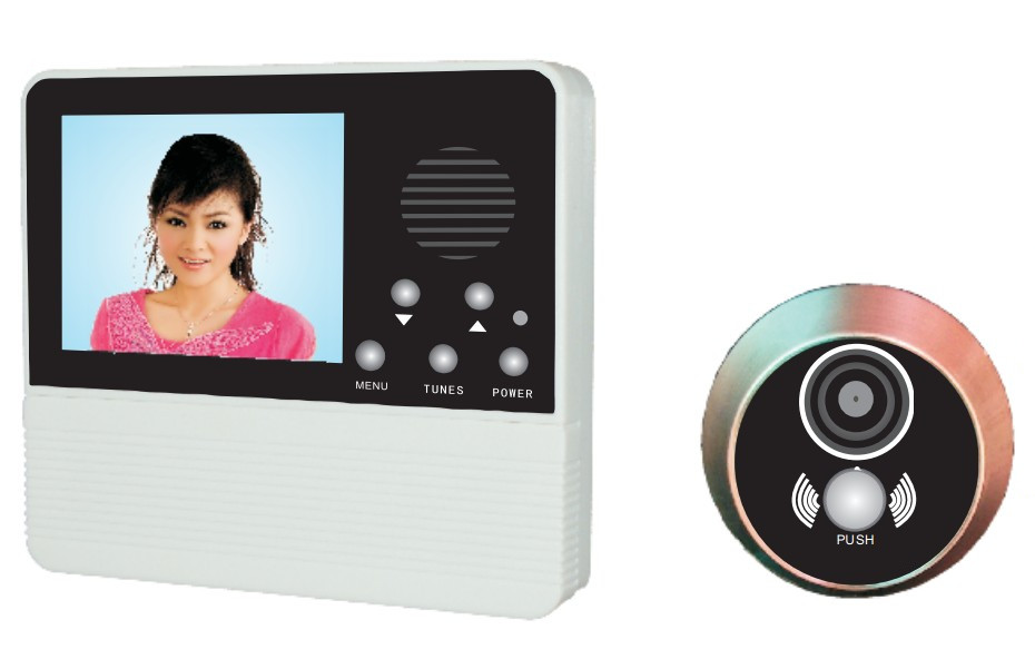 3.2'' Digital Door Viewer with taking photos function/Electronics Peephole System /Doorbell/120 view angle/Door Phone